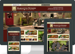 bargetto responsive design