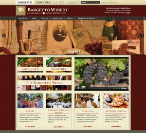 Bargetto & Chaucers Mead sites launched!