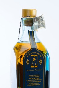 "Johnny Walker Blue Label is the First ""Smart"" Bottle"